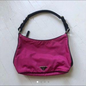 Pink PRADA Nylon Bag